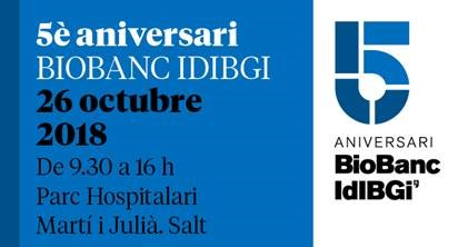 Jornada científica 5º Aniversario del Biobanco IDIBGI