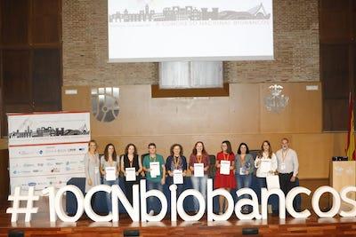 El X Congreso Nacional de Biobancos finaliza con la entrega de los Premios en sus 8 categorías