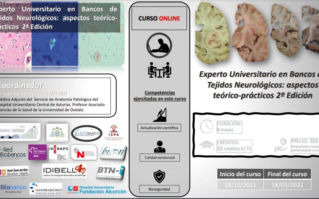 Anuncio: Título Propio Experto en Biobanco de Cerebros y Neuropatología